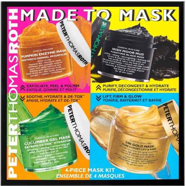 Made To Mask 4 piece kit, 200 ml Peter Thomas Roth Ansiktsmask